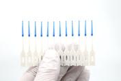 Dental Oral Care Interdental Brushes, Plaque Tartar Removal, Toothpick, Gum Pick, 24 Picks/Pack