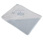 Snuggle Baby Baby Boys Prince Design Hooded Towel (75 x 75 cm)