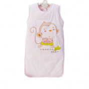 Baby Bunting Bag 4 Seasons Baby Sleep Bag ,Pink Monkey M