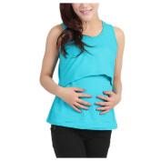 Maternity Breastfeeding Shirt, Inkach Pregnant Maternity Clothes Nursing Tops Breastfeeding Vest Casual T-Shirt