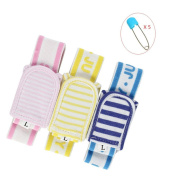 Baby Nappy Fastener Belt Durable Sturdy Stainless Steel Nappy Pins 2-in-1 卖点: