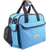 Anna & Eve LC-0003 The Life Changer Nappy Bag & Portable Lap Changing Station44; Sky Blue