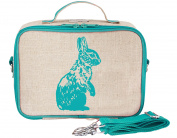SoYoung Aqua Bunny Lunch Box, Raw Linen