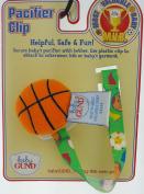 Baby Gund Soft FootBall Pacifier Holder Clip