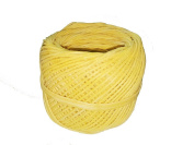 Homankit Beeswax Hemp Candle Wick, 60m Spool Pre Bees waxed Candle Wicks| 2mm in Diameter Candle wicks Coated With 100% Natural BeesWax for Candle Making / Candle DIY