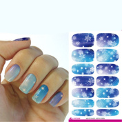 Excellent.advanced Personality Trendy Fashion Water-slide Watercolour Make-up Multi-style Nail Stickers