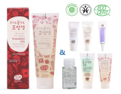 Whamisa Organic Flowers Foaming Gel for Cleansing 133g with Super Miniature Cleansing Kit