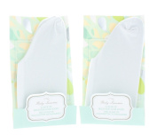 Lot of 2 Pairs Body Luxuries Moisture Lock Socks Skin Care Therapy Treatment