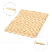 FlyItem 500Pcs Nail Art Design Orange Wood Stick Cuticle Pusher Remover Manicure Care Makeup Cosmetic nail tools