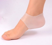 Gel Heel Protectors / Cups from Lemon Hero - Silicone Moisturising Socks Cushions & Protects Sore Cracked Feet