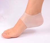 Gel Heel Protectors / Cups from Lemon Hero - Silicone Moisturising Socks Cushions & Protects Sore Cracked Feet