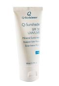 Quintessence SkinScience Q-Sunshade SPF 30 UVA/UVB Broad Spectrum Mineral Sunscreen, Transparent, 1.7 fl. oz./50 ml.
