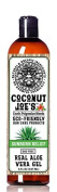 Real Aloe Vera Gel by Coconut Joe's | Fast Sunburn Relief, Pure Aloe, Alcohol-Free, 240ml bottle