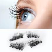 Magnetic Eye Lashes False Eyelashes Ultra-thin 0.2mm 3D Mink Reusable Magnet