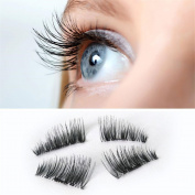 Sankuwen Magnetic Eye Lashes Ultra-thin 0.2mm 3D Mink Reusable False Magnet