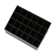 CH Makeup Organiser Cosmetic Organiser Cosmetic Lipstick Storage Display Rack Stand Holder Organiser Case Black