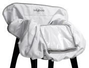 Lulyboo Shopping Cart and High Chair Cover - Foldable Travel Cover Includes Smart Device Window - Machine Washable