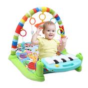 Careu Baby Activity Gym & Play Mats,Kick 'n Play Piano & Lights