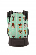 Baby Tula Standard Baby Carrier Plus Matching Blanket Set - Clever