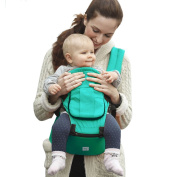 BabySteps Ergonomic Baby Carrier with Hip Seat for All Seasons, 6 Comfortable & Safe Positions for Infant & Toddlers, Adjustable Waistband Maximum 120cm , Perfect for Alone Nursing and Hiking