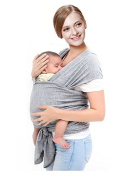 Hhobake Baby Warp,Baby Carrier,Baby Sling,Suitable For Newborns to 15kg,Soft Comfortable and Breathable