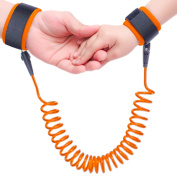 Topsky Anti Lost Wrist Link safety Hook and loop strap Leash Walking Hand Belt for Toddlers, Kids and Babies (1.5m )