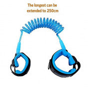 MAX-ELF Anti Lost Wrist Link Safety Hook and loop Wrist Link for Baby & Kids Lengthen 2.5 metres
