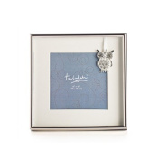 Silver Owl Charm Baby Photo Frame