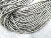 16 inch strand Iron pyrite smooth tube beads,golden brass beads tube column Pyrite jewlery 3x3mm