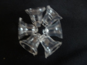 Lot of 1440 pc. of Vintage Tiny Clear Bells Party Favours / Bridal / Decorations