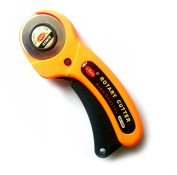 Driak 45mm Handle Rotary Cutter Cutting Craft Tool For Quilters Sewing