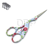 DDP 11cm STAINLESS STEEL SHARP TIP CLASSIC STORK SCISSORS CRANE DESIGN SEWING SCISSORS DRESSMAKER SHEARS SCISSORS FOR EMBROIDERY, CRAFT, NEEDLE WORK, ART WORK & EVERYDAY USE BTS-156