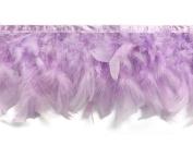 Feather Boa, 1 Yard - Lavender Chandelle Feather Trim Mardi Gras, Costume, Garment Feather Trim