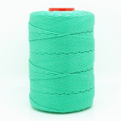 TEAL 1mm 100% Nylon Twisted Cord Thread Macrame Beading Crochet Hand Crafts Artisan