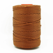 BROWN 1.5mm 100% Nylon Twisted Cord Thread Macrame Beading Crochet Hand Crafts Artisan