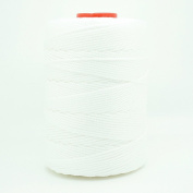 WHITE 1.5mm 100% Nylon Twisted Cord Thread Macrame Beading Crochet Hand Crafts Artisan
