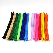 280pcs Multicolour Chenille Stems Pipe Cleaners Handmade Diy Art & Craft