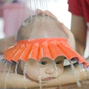 IBEPRO Baby Safe Shampoo Shower Bathing Protection Soft Shower Cap Hat Wash Hair Shield For Children Kids to Keep the Water Out of Their Eyes & Face