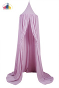 New Pericross® Bed Canopy for Kids Reading Play Tents Thin Cotton Linen 4(W)* 2.3(H)m