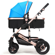 Anna Baby Stroller Travel System Baby Stroller High Landscape Can Sit Can Lie Down Ultraportable Fold Baby Carriage Trolley Adjustable Pushchair stroller