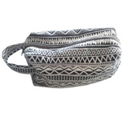 Tamarind Bay Canvas Blend Toiletry Bag with inside lining