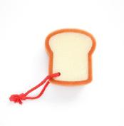 2X Da.Wa Bath Sponge Cute Toast Bread Shower Sponge Body Wash Tools