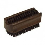 Thermowood Nail Brush With Stiff Natural Pig Bristles, 8.9cm by 4.4cm , Nessentials