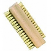 Nailbrush Tampico Fibre with Untreated Beechwood, 9.2cm by 3.5cm , Nessentials