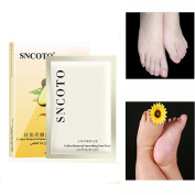 Avocado Foot Mask Socks Callus Removal Smoothing Foot Exfoliation Double Layer Mask 5 paris