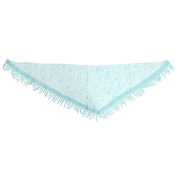 MagiDeal Newborn Baby Soft Silk No-Stretch Lace Trim Wraps Photography Props Sky Blue
