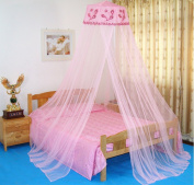 CdyBox Princess Hanging Canopy Decorative Mosquito Net for Beds