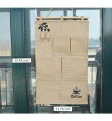 Cotton Fabric Wall Door Closet Hanging Storage Bag Organiser Over Door Fabric Baby Nursery Closet Organiser for Shoes, Hats, Gloves£¬Pockets Books