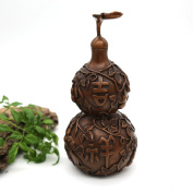 Hand-made Red Copper Gourd Decoration Net Weight