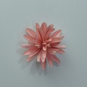 DIY flower kit card stock flower kit 1 mini flower pulsar pink